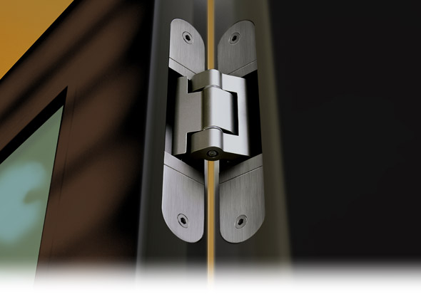 Tectus concealed hinges from Simonswerk